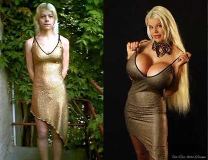 german woman transform