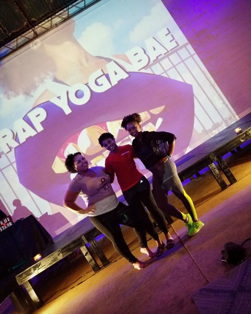 Girl Houston Trap Yoga Ciara Rouege Trap Yoga Bae